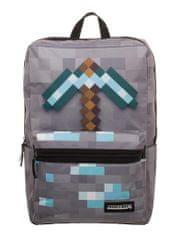 Bioworld Batoh Minecraft - Diamond Pickaxe (šedý)