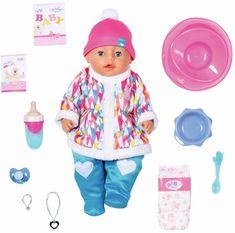 BABY born Soft Touch, djevojčica u zimskoj odjeći, 43 cm