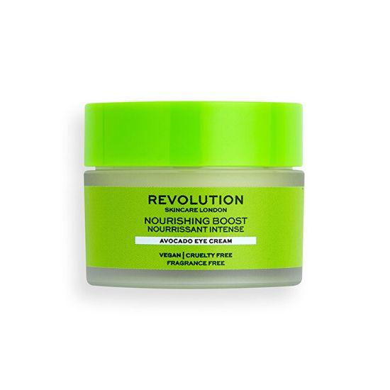 Makeup Revolution Očný krém Revolution Skincare Nourish ing Boost ( Avocado Eye Cream) 15 ml