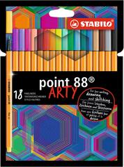Stabilo Linery Point 88 ARTY, 18 különböző színben