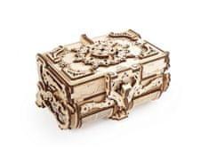 UGEARS 3D mechanické puzzle Antique Box 185 ks