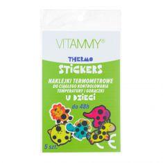 Vitammy THERMO STICKERS Nalepke s termometrom za stalno merjenje temperature, 1x5pcs