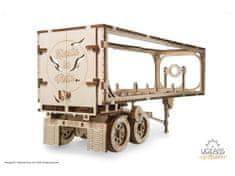 UGEARS 3D mechanické puzzle Přívěs pro Heavy Boy kamion VM-03 138 ks