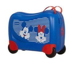 Samsonite Detský cestovný kufor Dream Rider Disney Minnie&Mickey Stripes suitcase 43C*001 (109641)