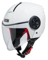 iXS motoristična odprta JET čelada z vizirjem 851 1.0, bela