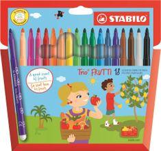 Stabilo Ceruza Trio Frutti, 18 különböző szín, illatos
