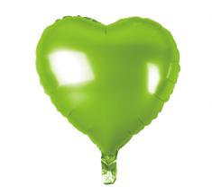 """GoDan Fóliový balón 18"""" Zelené srdce"""