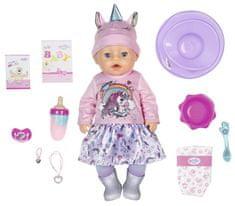 BABY born Soft Touch, dievčatko v oblečení s jednorožcom, 43 cm