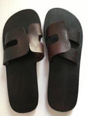 DahicanCZ Kvalitní kožené pantofle velikost EU 44,5