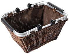 Kesper nakupovalna košara s tekstilno podlogo