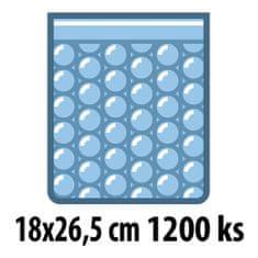 Bublinkové sáčky 18x26,5 cm, 1200 ks