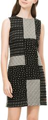 Desigual Vzorované šaty Desigual Barva: Černá, Velikost: 40