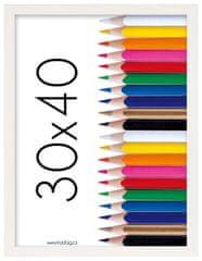 Tradag Fotorámeček Tosca 30x40 bílý