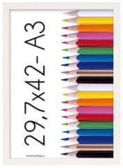 Tradag Fotorámeček Tosca 29,7x42 - A3 bílý