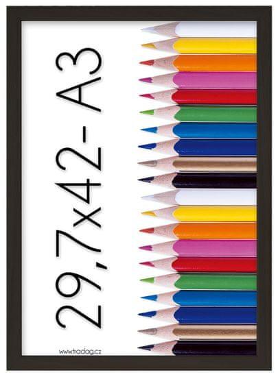 Tradag Fotorámeček Tosca 29,7x42 - A3 černý