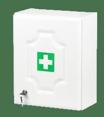 ŠTĚPAŘ Nástěnná lékárnička LUX pro 5 osob bílá