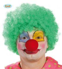Parochňa AFRO - klaun - zelená