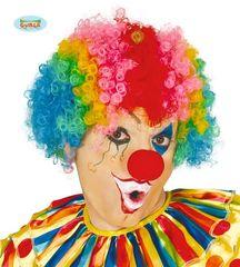 Parochňa AFRO - klaun - farebná