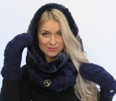 Lipsy Luxusná súprava Lips Modré rukavice UNI, Využitie: Dámske