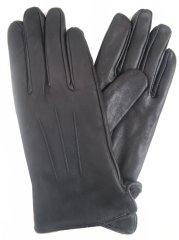 Lipsy Kožené rukavice LIPSY černé Černá U
