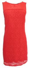 Silvian Heach Krajkové červené šaty Silvian Heach Barva: Červená, Velikost: M