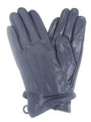 Lipsy Kožené rukavice LIPSY modré Modrá U
