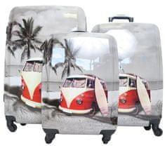 Borderline Skořepinové kufry s autobusem Borderline Velikost: velký