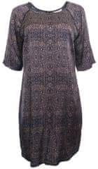 YAYA Vzorované šaty Yaya Hnedá 38