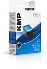 KMP HP č. 301 XL (HP CH563EE XL, HP CH563E XL) černý inkoust pro tiskárny HP