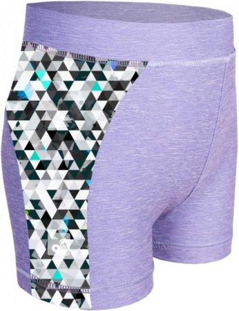 Unuo dekliške funkcionalne kratke hlače UV 50+ 110/116, siva