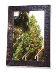 BaliTrade Zrcadlo z tropického dřeva - řecký vzor - 100 cm