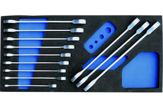 Condor modul - klíče očkoploché ráčnové, 12 dílů, velikost 1/3 - Condor