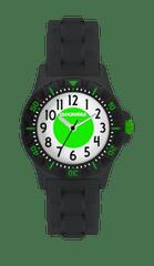 CLOCKODILE Svítící černo-zelené sportovní chlapecké hodinky CLOCKODILE SPORT 3.0