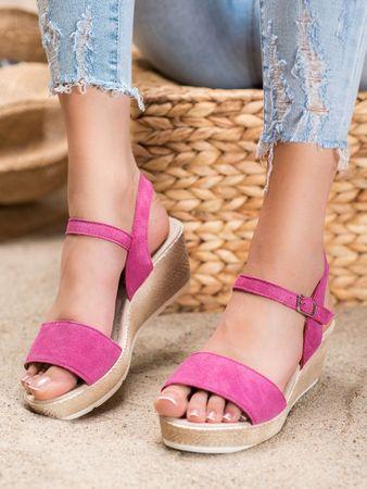 Női szandál 65188 + Nőin zokni Gatta Calzino Strech, rózsaszín árnyalat, 37