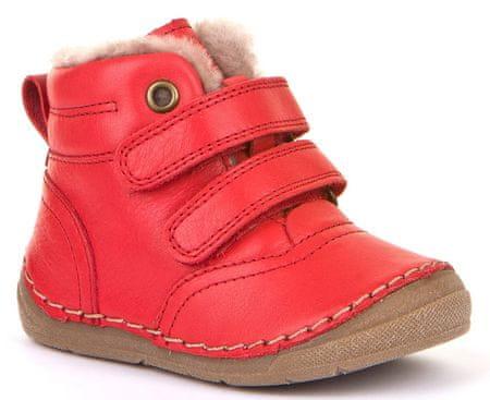 Froddo botki dziewczęce G2110087-8, 28 czerwone