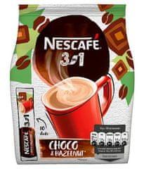 NESCAFÉ 3in1 Choco Hazelnut,instantní káva x 10sáčků