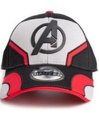 CurePink Kšiltovka Marvel|Avengers Endgame: Quantum Suit (nastavitelná)