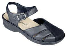 Berkemann BIRTHE halluxový sandálek plná špice dámský černý Berkemann Velikost Berkemann: 3