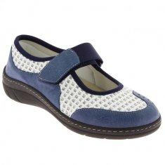 Podowell VIRTUEL obuv pro širokou nohu modrá PodoWell Velikost: 35