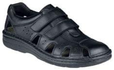 Berkemann JOOST zdravotní sandál pánský černý Berkemann Velikost Berkemann: 6