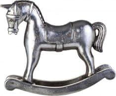 Lene Bjerre Hojdací koník Serafín, strieborný s patinou