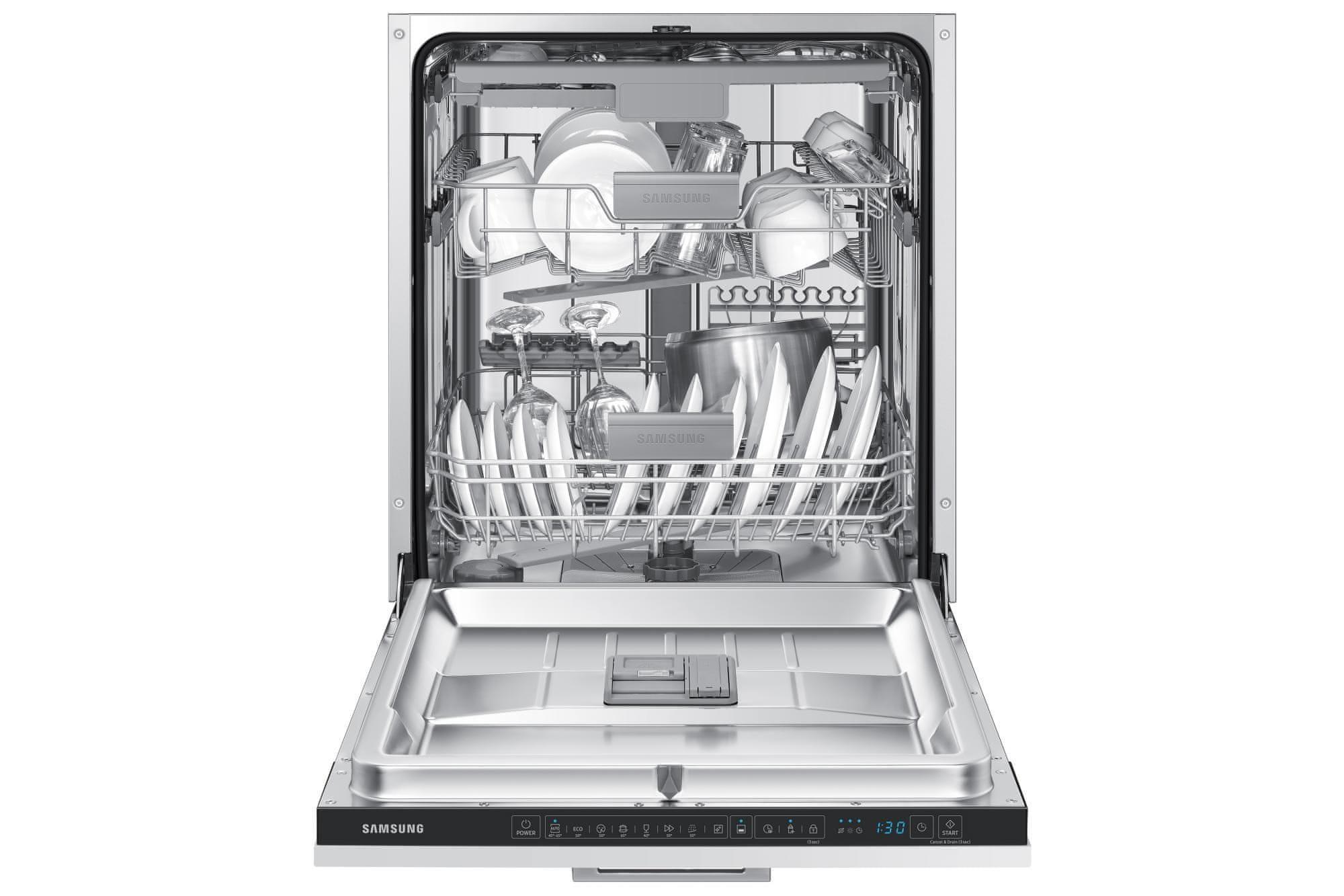 Samsung DW50R4060BB/EO Tichý program