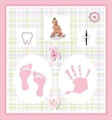FANDY Fotoalbum 10x15 200 foto dětské Trickle 2 růžové
