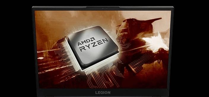 Herný notebook Lenovo Legion 5-15ARH05 (82B100EACK) AMD Ryzen 7 samostatná grafická karta NVIDIA GeForce RAM DDR4 rýchly disk SSD