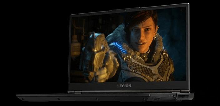 Herní notebook Lenovo Legion 5-15IMH05H (81Y600HPCK) silný prostorový zvuk harman dolby atmos