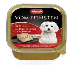 Animonda V.Feinsten CORE kurczak, banan + morele dla psów 22x150 g