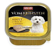 Animonda V.Feinsten CORE kurczak, jajka + szynka dla psów 22x150 g