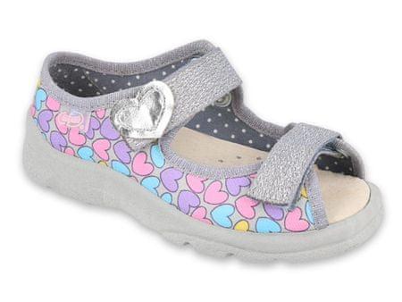 Befado Max 869Y135 sandale za djevojčice, 31, sive