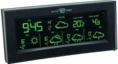 TFA 35.5061.01.IT AURA Satellitengestützte Funk-Wetterstation mit Color-Sharp Farbwechsel-Display oh