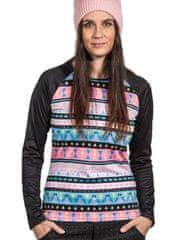 Lasoul Dámské sportovní triko Long Tribal dlouhý rukáv